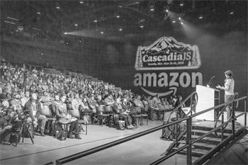 Speaker at CascadiaJS 2018