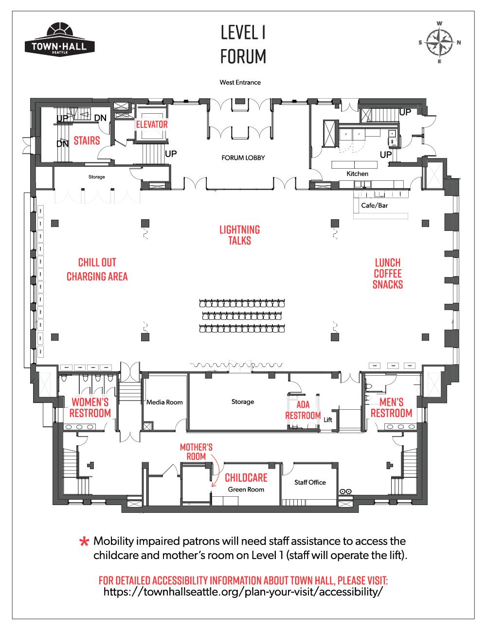 Forum - 1st floor