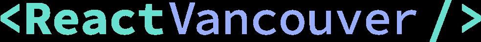 React Vancouver logo